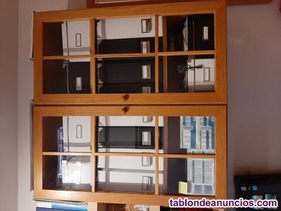Vendo mueble bajo y alto (estantería)