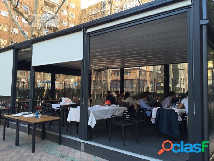 En Traspaso Restaurante de 232m² con gran Terraza en zona