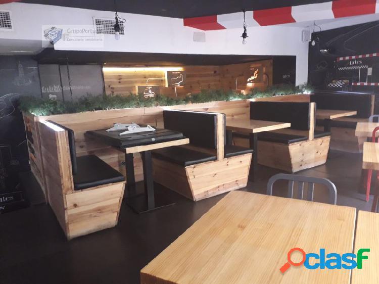 Grupo Portugal ofrece en Traspaso bar Pizzeria en la Zona de