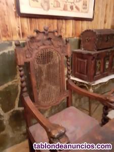 Sillon y dos sillas