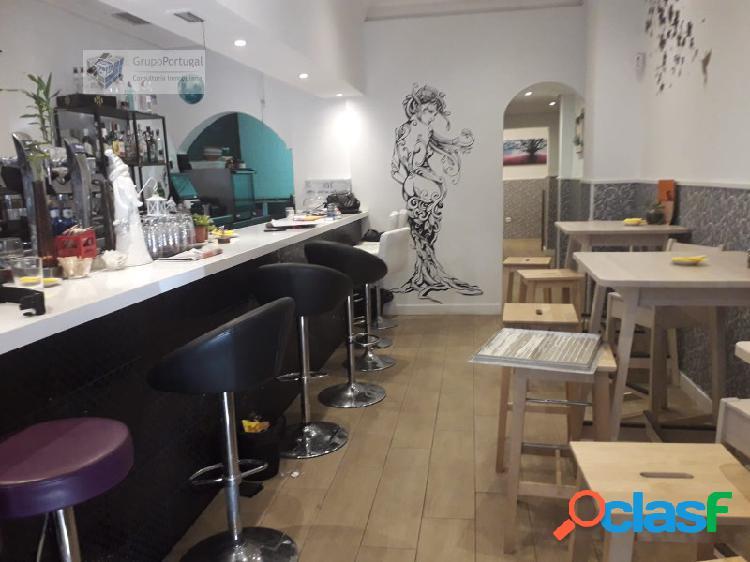Traspaso Bar Restaurante de 160m² en zona Vallehermoso