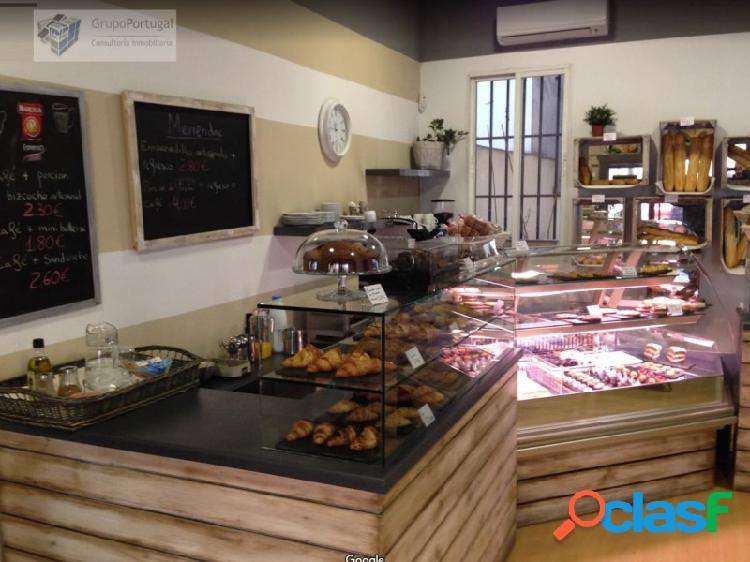 Traspaso Café Bar sin salida de humos 80m², en zona
