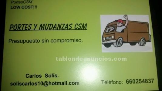Portes y mudanzas low cost!!!