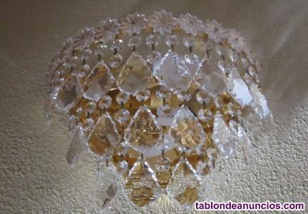 Lámparas cristal y metal