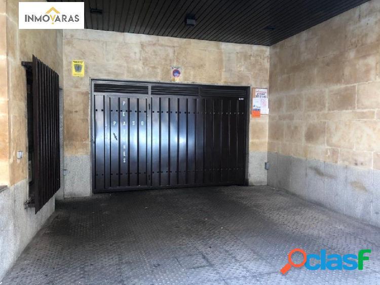 Se vende plaza de garaje en el centro de Salamanca