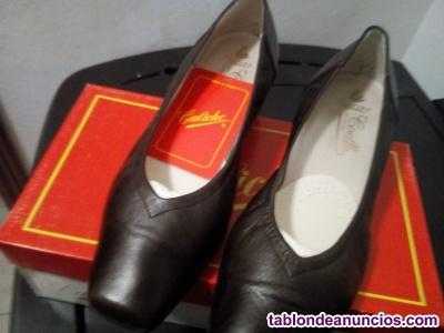 Zapatos mujer caliche, nuevos