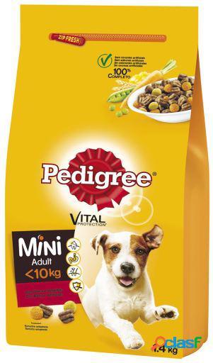 Pedigree Mini Adult Buey y Verduras 1.4 KG