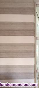 Rollo de papel pintado baltic bois taupe de casadeco