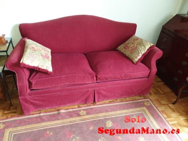 Sofá cama de 1,35m.