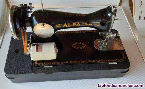 """Vendo máquina de coser marca """"alfa"""" nueva"""