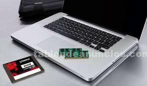 Apple macbook pro, air y retina, reparacion y ampliaciones