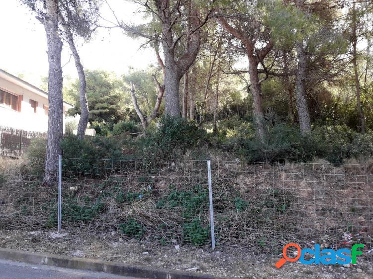 PARCELA DE 1.515 m2 EN CALAFELL URBANIZACIÓN MAS ROMEU -