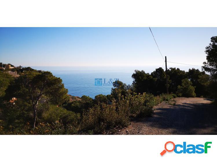 Parcela en Javea con vistas al mar