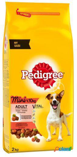 Pedigree Alimentos de Perros Para Mini Adult Buey Y Verduras