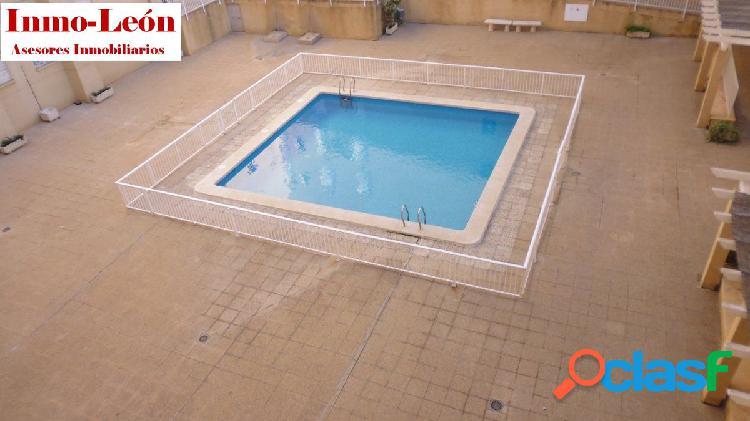 Piso con piscina y plaza de garaje Zona Plaza Madrid-Avda.