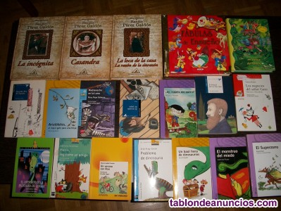 Lote de 450 libros (a 0,95 € cada uno