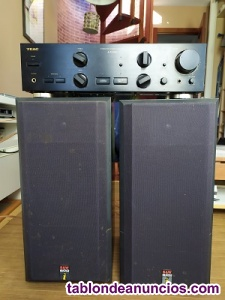 Amplificador y altavoces
