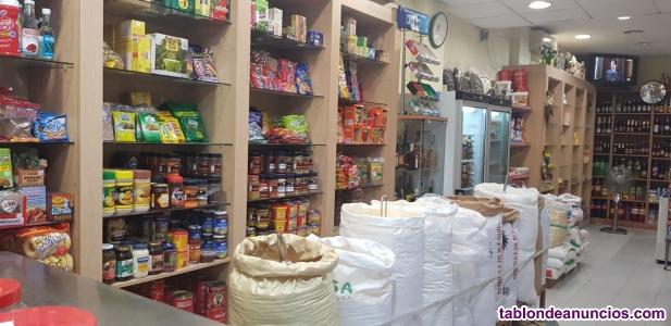 Supermercado en trasapso
