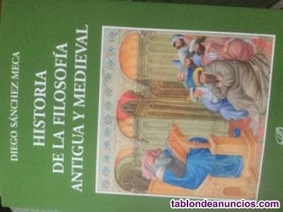 Vendo libro de historia de la filosofía antigua y medieval,