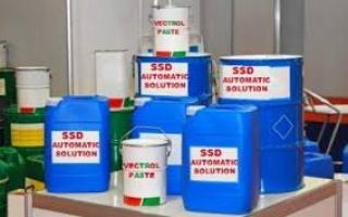 Solución química SSD para la venta en Europa, Asia,