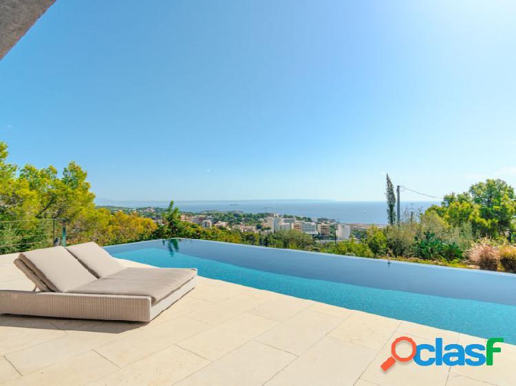 Villa de diseño con vistas al mar en Costa d´en Blanes.