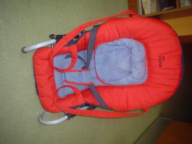 HAMACA TUMBONA MARCA Baby Nurse, reclinable en distintas
