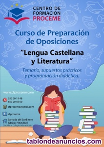 Oposiciones lengua castellana y literatura