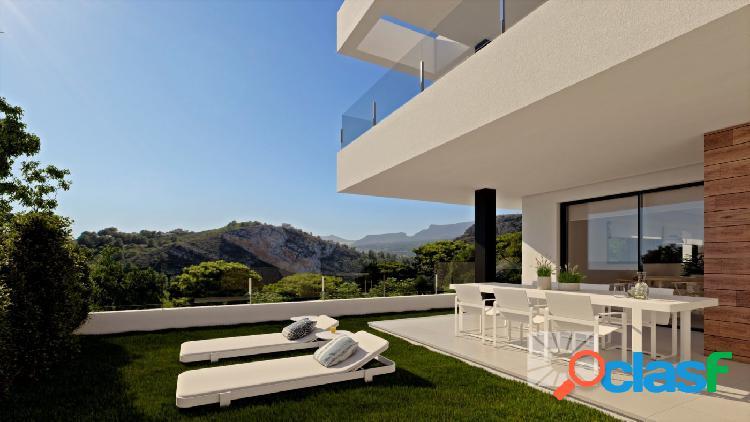 Apartamentos de diseño moderno de nueva construcción en