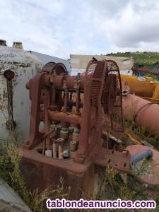 Caja de bombas antiguas fabrica aceite