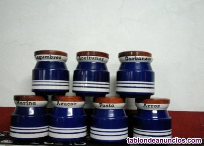 Botes de cocina de cerámica