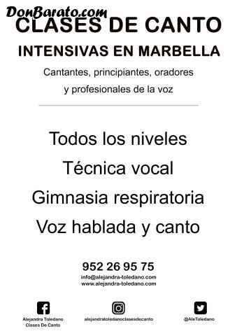 Clases de canto. marbella. técnica