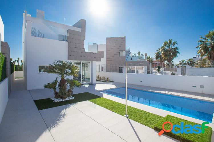 Preciosas modernas villas a co