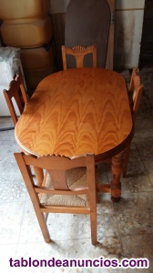 Mesa cocina -chimenea