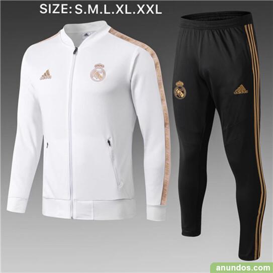 Real madrid  chandal y chaqueta de futbol gratis