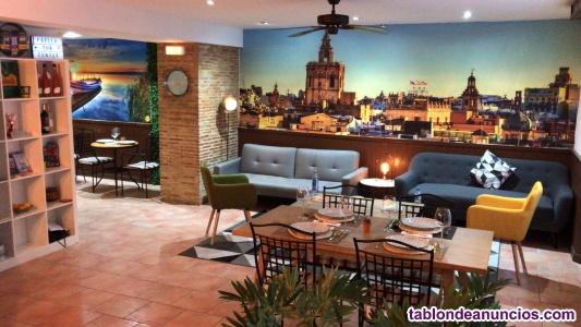 Se traspasa espectacular restaurante en centro valencia