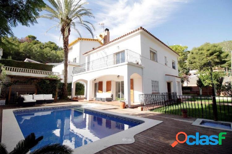Casa de estilo mediterráneo, muy acogedora