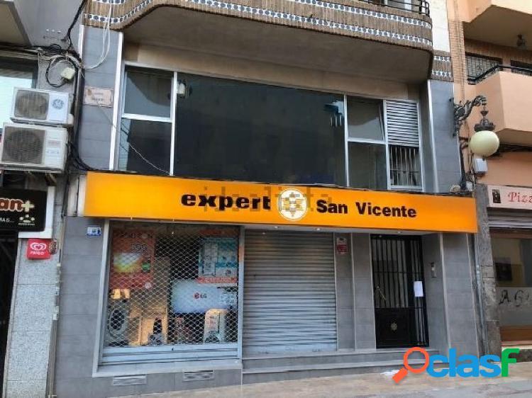 DOS LOCALES COMERCIALES EN EL CENTRO DE SAN VICENTE