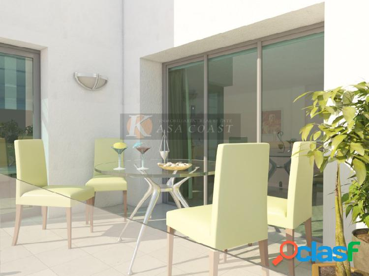 Promoción de pisos en construcción en Los Boliches,