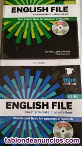 Vendo libros de inglés