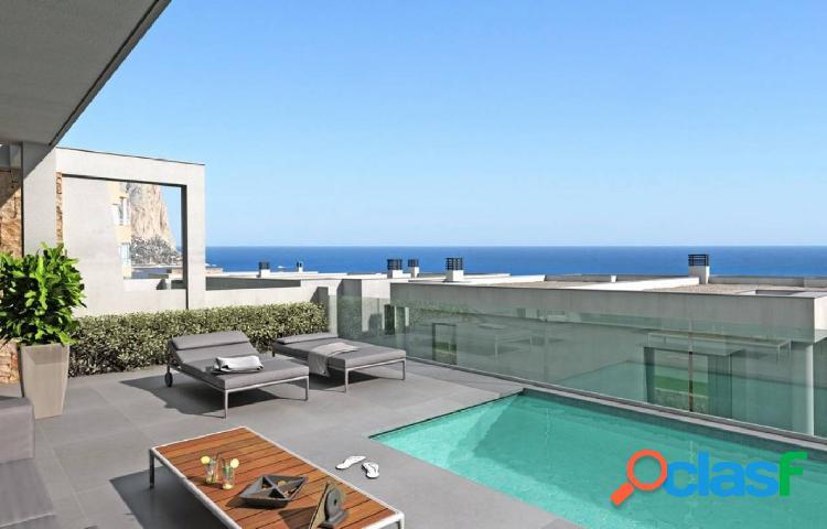 Villas modernas en Caple con vistas panorámicas al mar y al