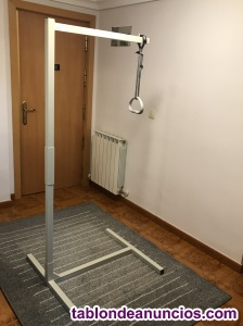 Trapecio incorporador de suelo para cama articulada