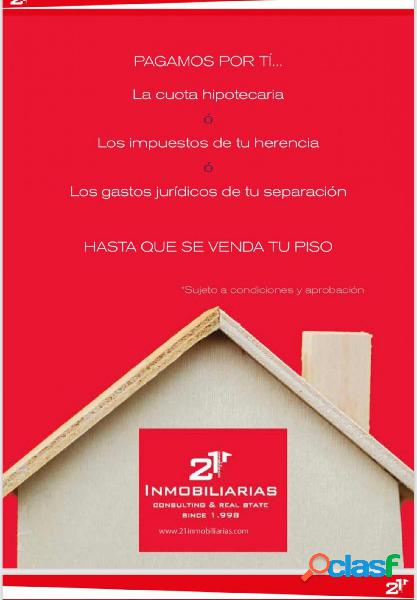 21 Inmobiliarias vende piso en planta baja en zona mercado