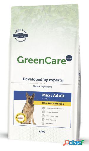 GreenCare Nutrition Adult Maxi Pollo y Arroz 12 + 3 Kg