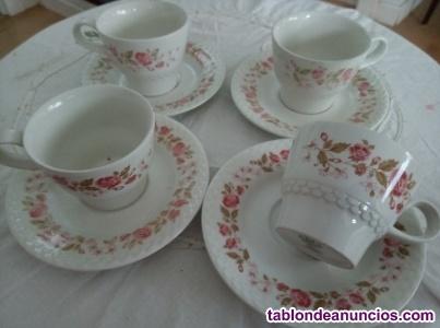 Tazas de porcelana pontesa