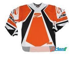 Camiseta FIRSTRACING DVX de cross en color naranja