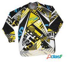 Camiseta FIRSTRACING LITE de cross en color amarillo
