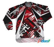 Camiseta FIRSTRACING LITE de cross en color rojo