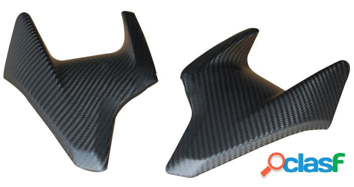 Carenado lateral (2 unidades) de fibra de carbono para motos