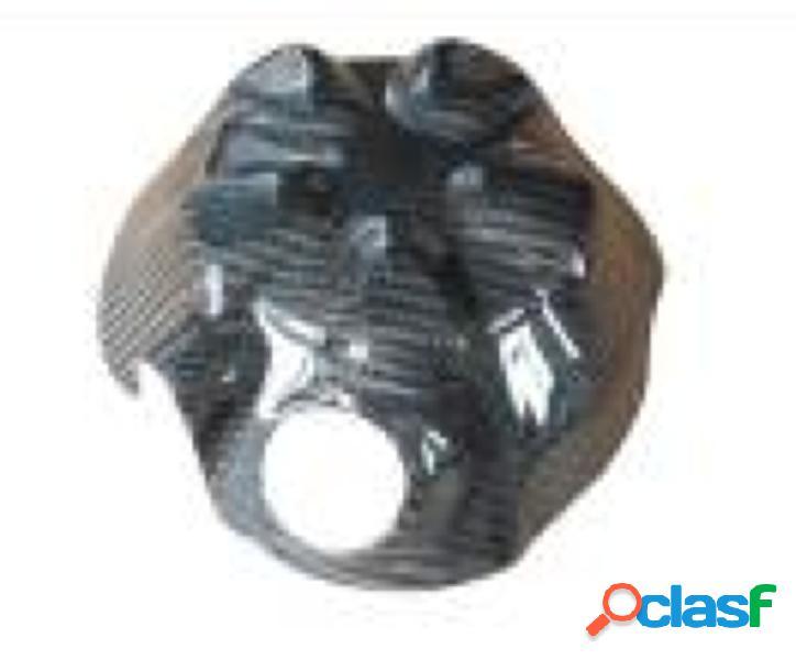 Protección para el motor de fibra de carbono para motos