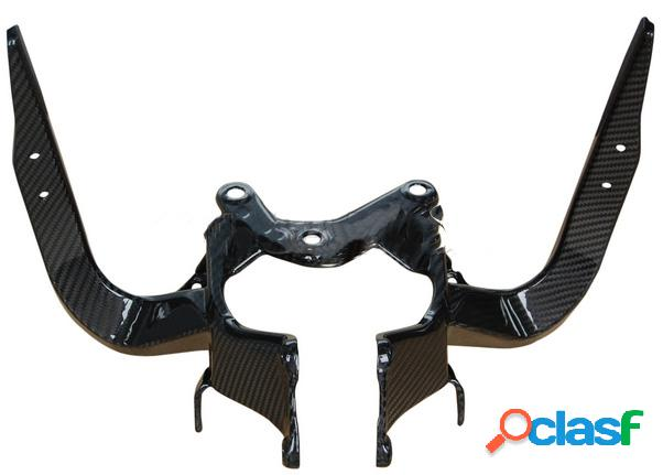 Soporte de fibra de carbono para motos MV F3 675 de 2012.